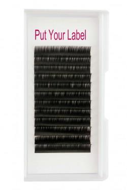Russian Volume 0.12 eyelash extensions manufacturer B Curl Mix Length