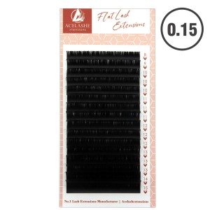 Acelashes® Super Flat Lash Extension 0.15 FL015