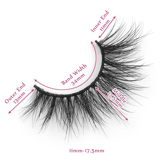17.5mm lashes