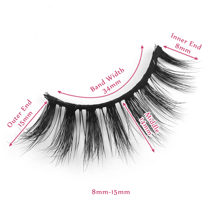 15mm lashes