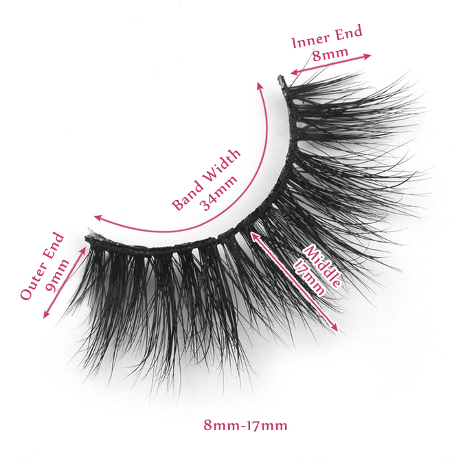 17mm lashes