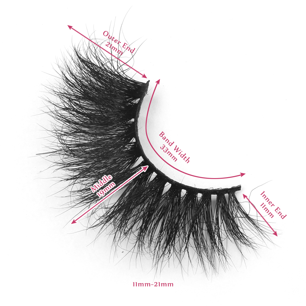 21mm lashes