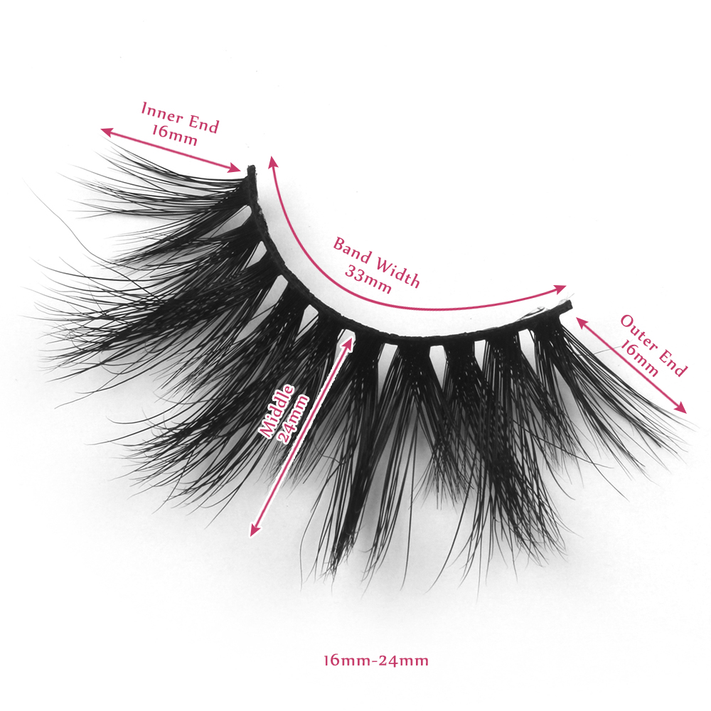 24mm lashes