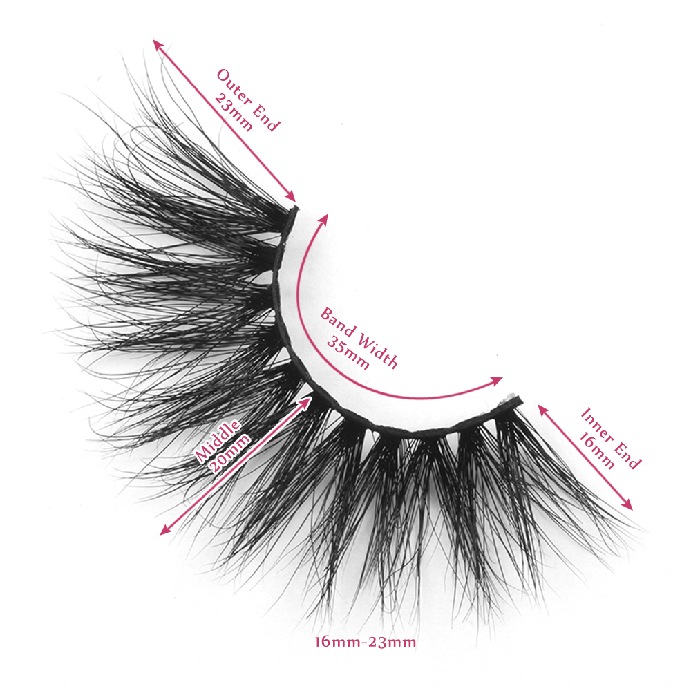 23mm lashes