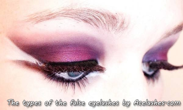 The types of the false eyelashes by Acelashes.com