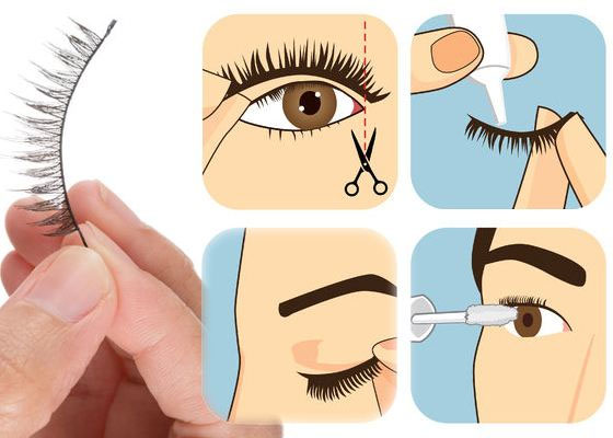 learn how to apply mink lashes