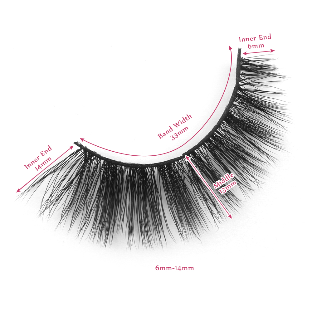 14mm lashes