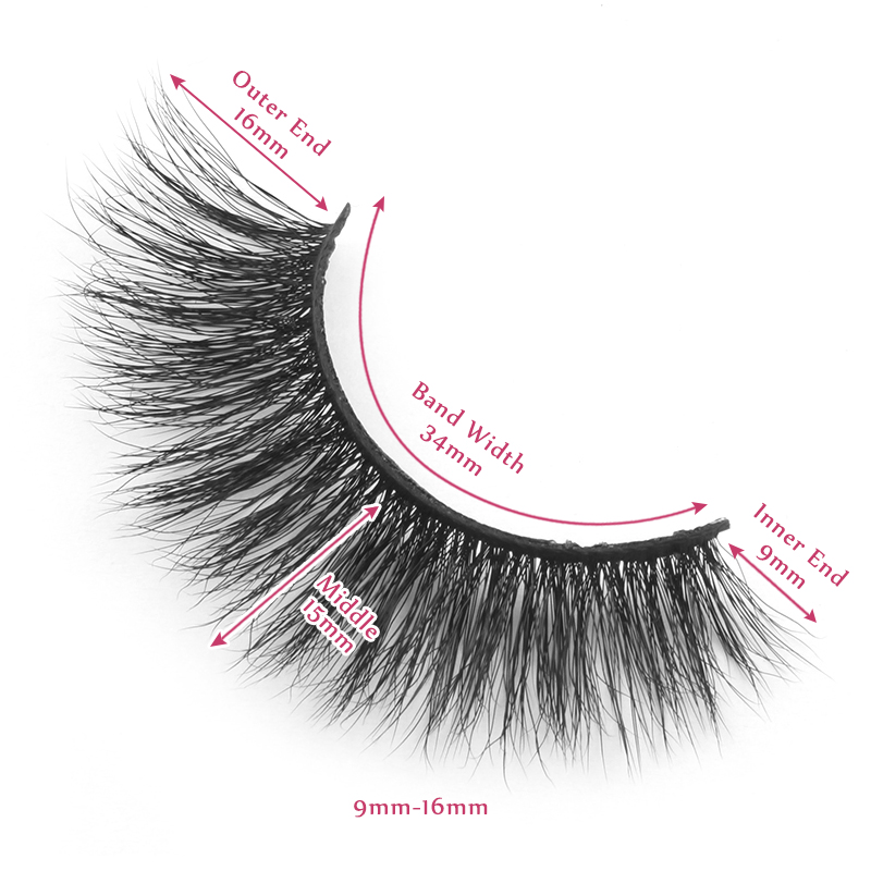 16mm lashes