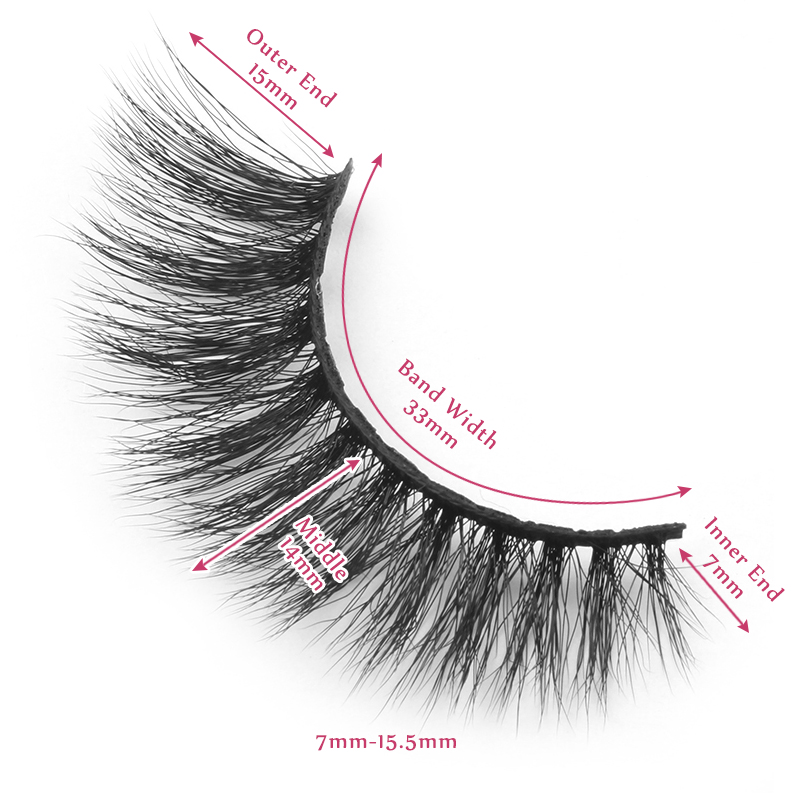 15.5mm lashes