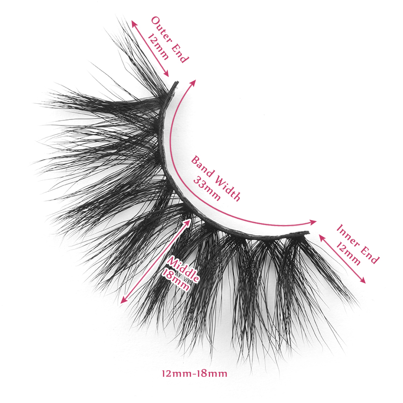 18mm lashes