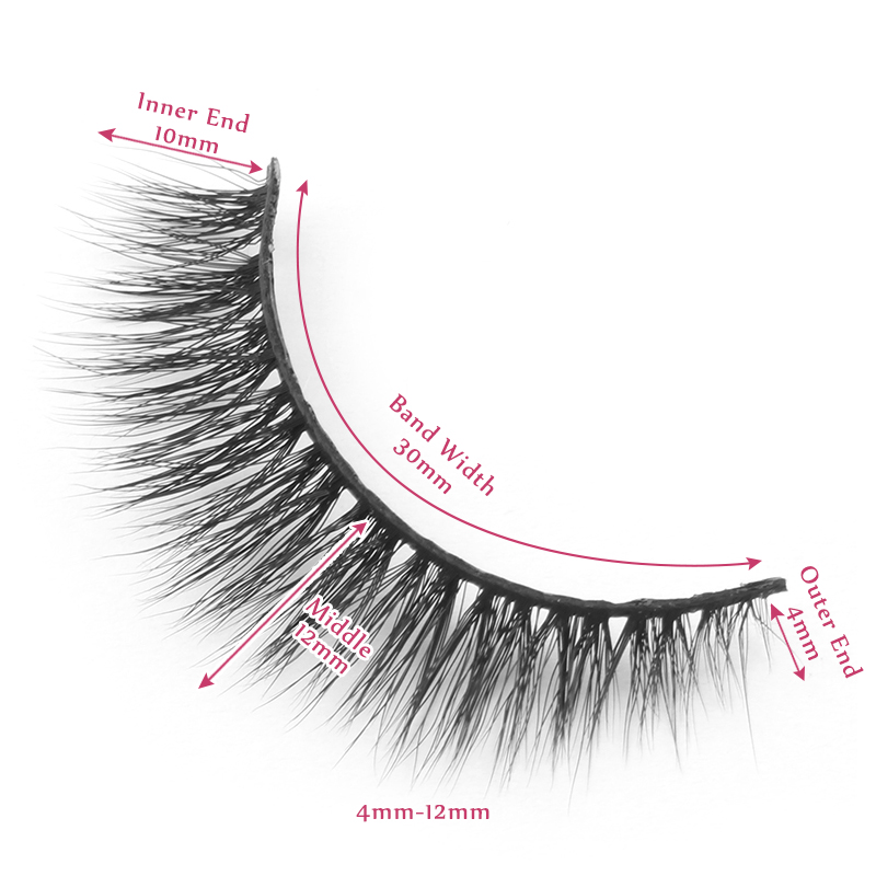 12mm lashes