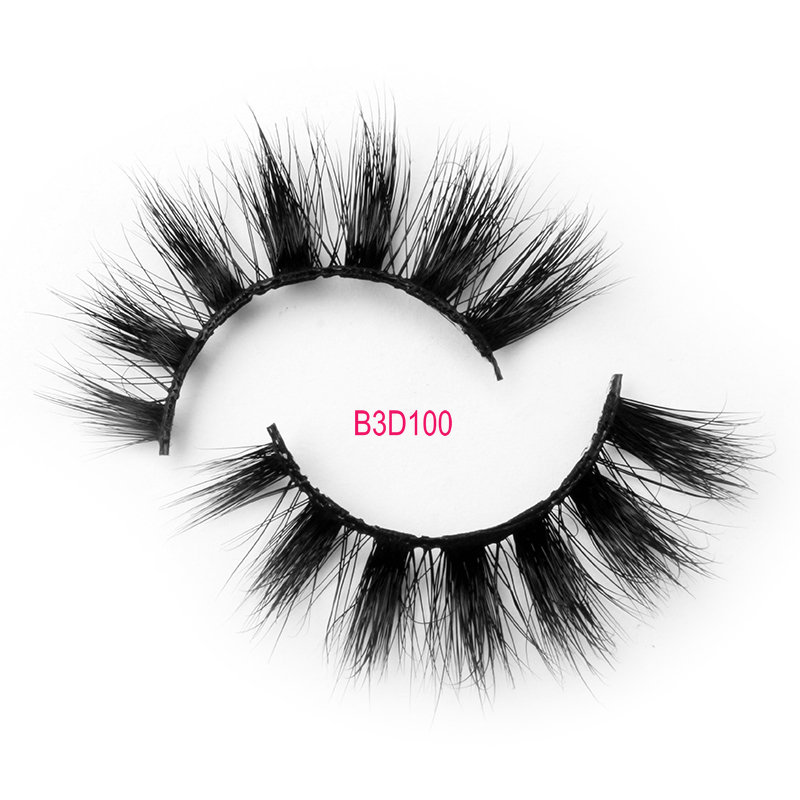 3D mink lashes Free samples B3D100