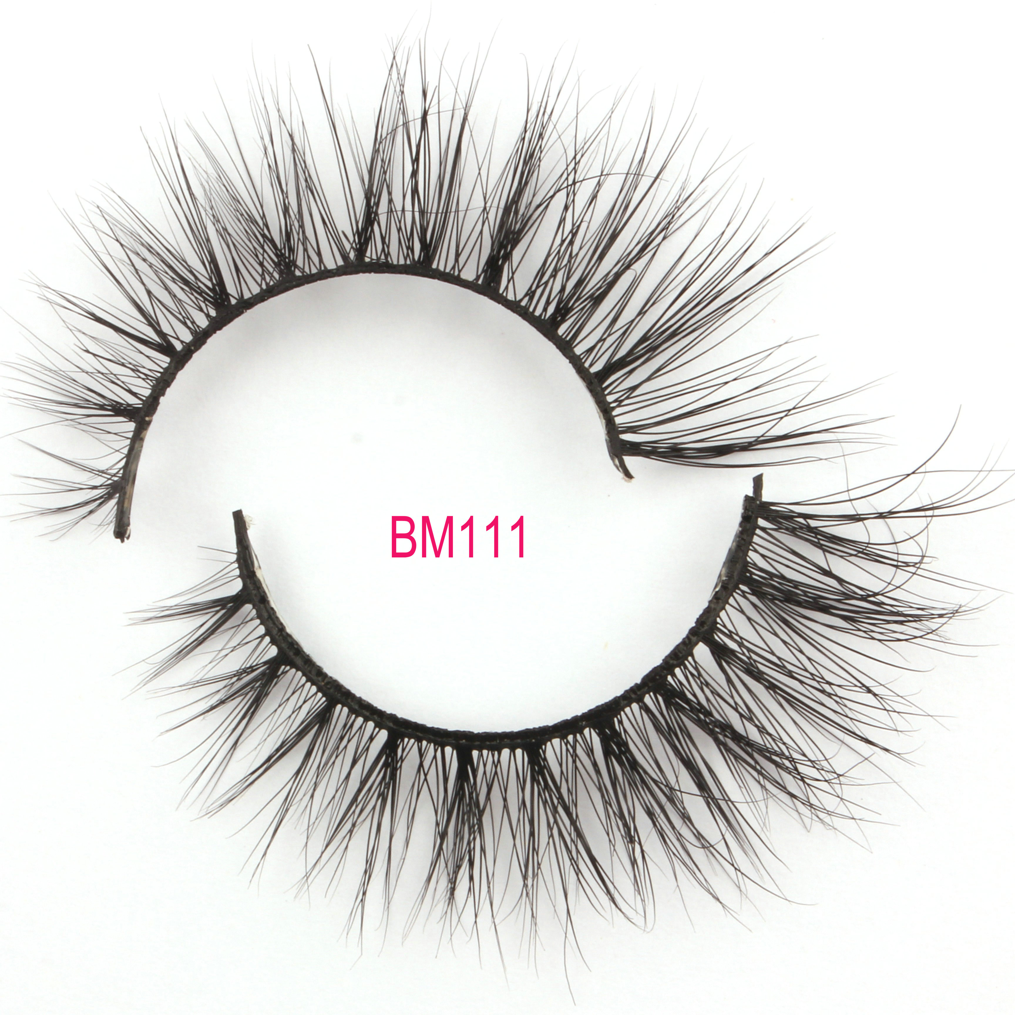 Mink Lashes Free samples BM111